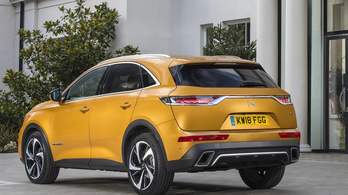DS DS7crossback new Rear
