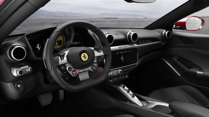 ferrari portofino new Interior