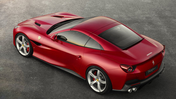 ferrari portofino new Rear