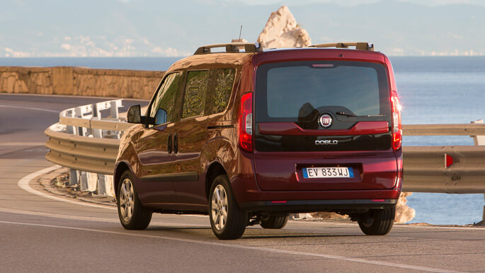 fiat doblo new Rear