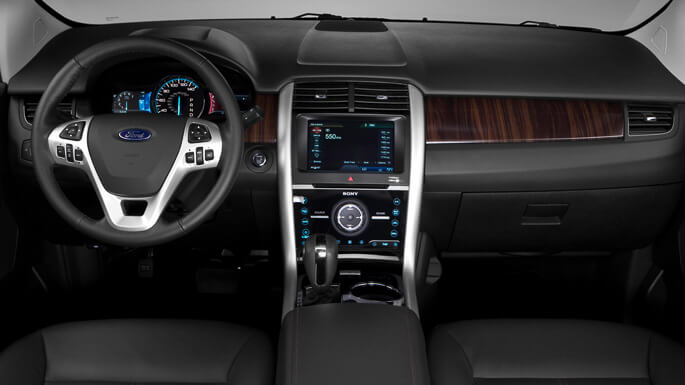 ford edge 2008 Interior