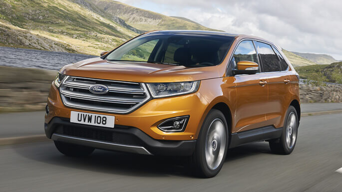 ford edge new Extra