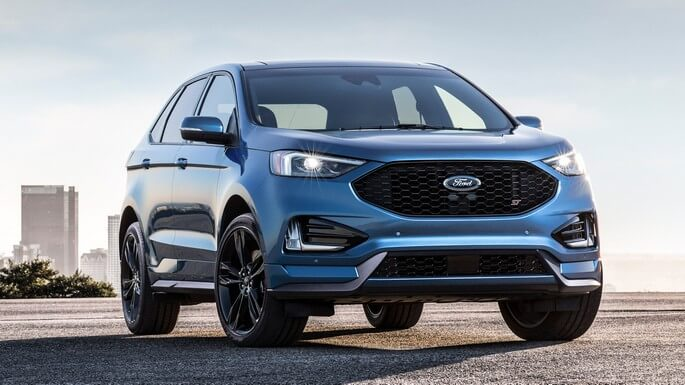 ford edge new Front