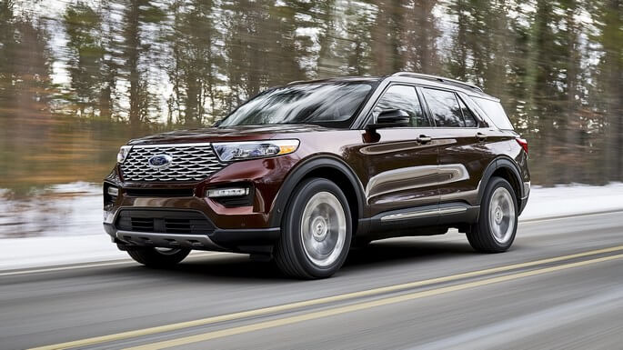 ford explorer new Extra