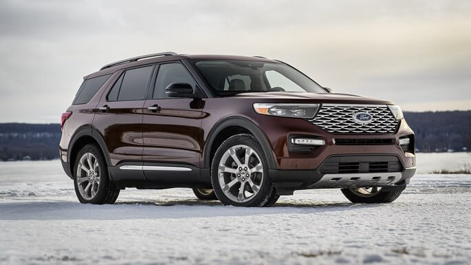 ford explorer new Front
