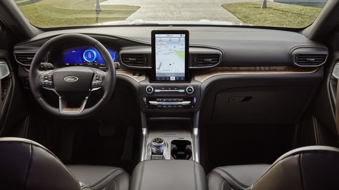 ford explorer new Interior