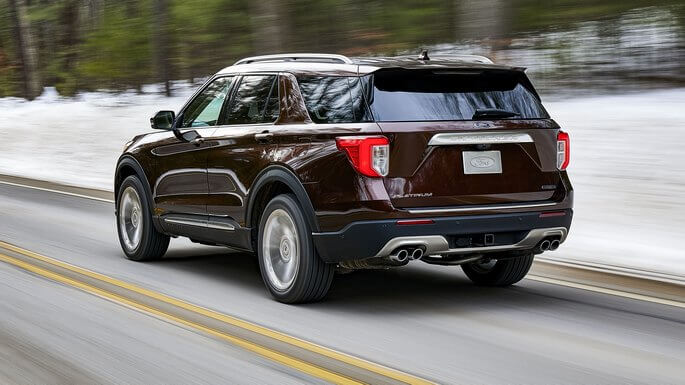 ford explorer new Rear