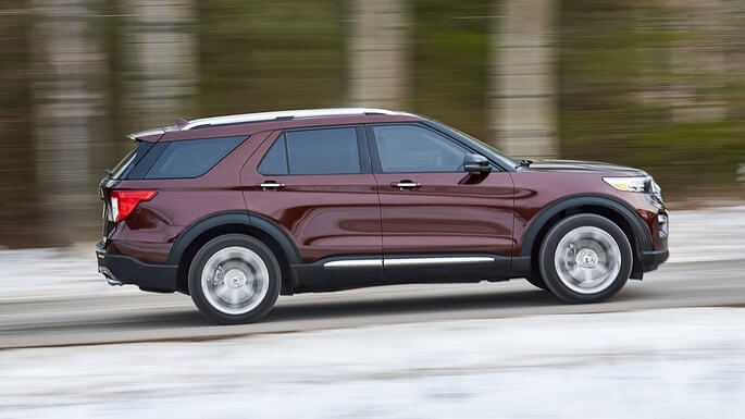 ford explorer new Side