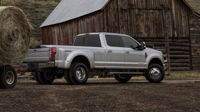 ford f 350 super duty new Side