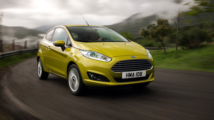ford fiesta new Front