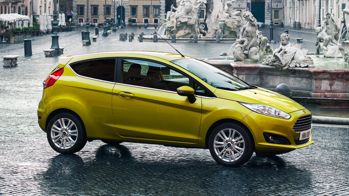 ford fiesta new Side
