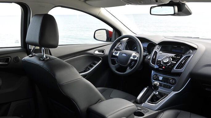 ford focus SW 2012 Interior