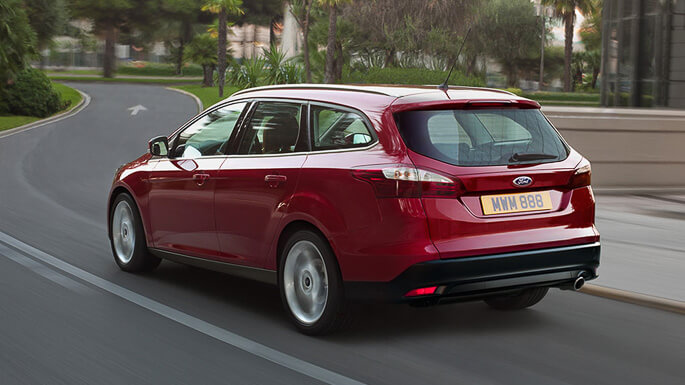 ford focus SW 2012 Rear