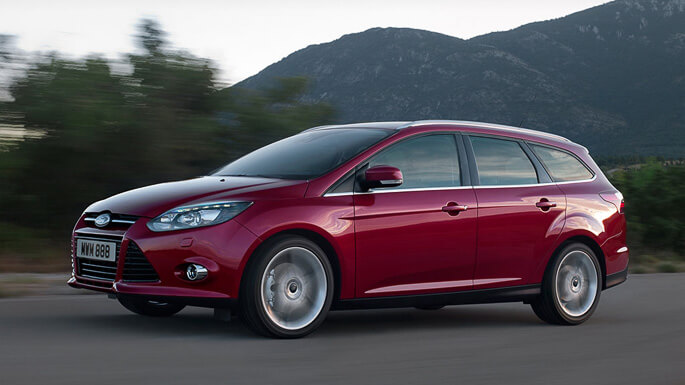 ford focus SW 2012 Side