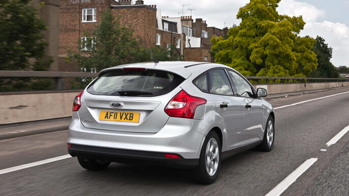 ford focus 2012 Rear