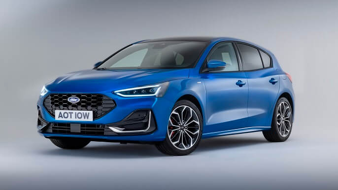 ford focus new Front