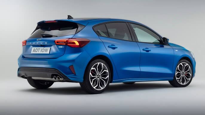 ford focus new Rear