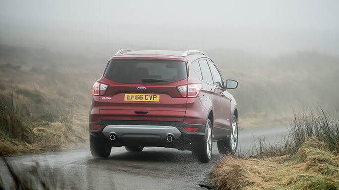 ford kuga new Rear