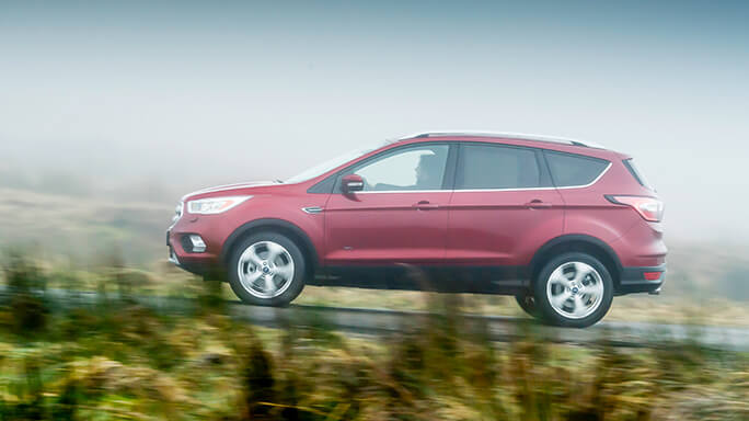 ford kuga new Side