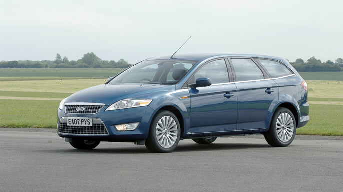 ford mondeo SW 2008 Front