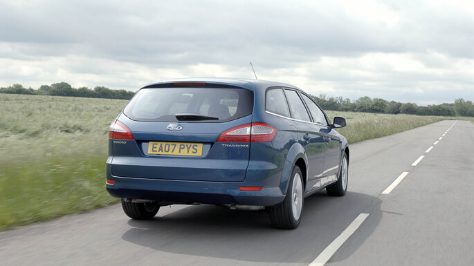 ford mondeo SW 2008 Rear