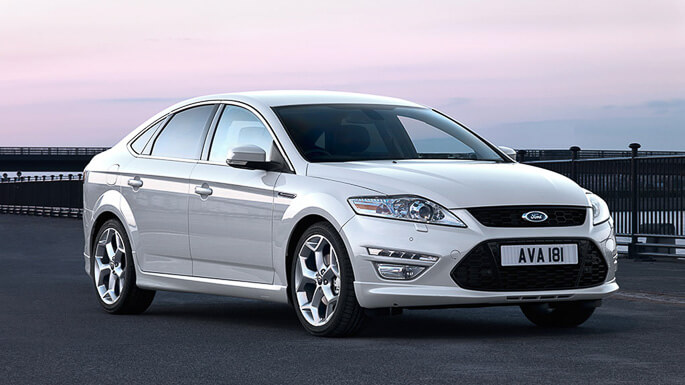 ford mondeo 2008 Front