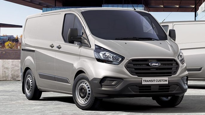 ford transit custom new Front