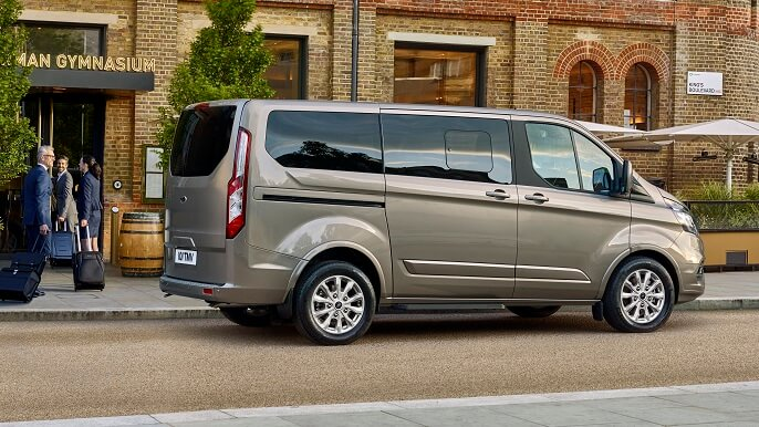 ford transit custom new Rear