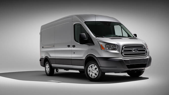 ford transit 2014 Front