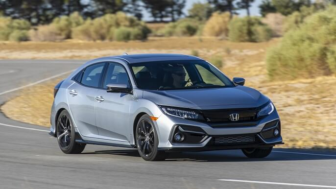 honda civic hatchback new Extra