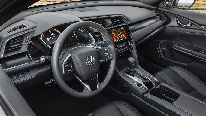 honda civic hatchback new Interior