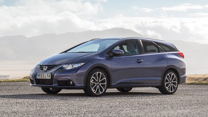 honda civic tourer 2014 Front