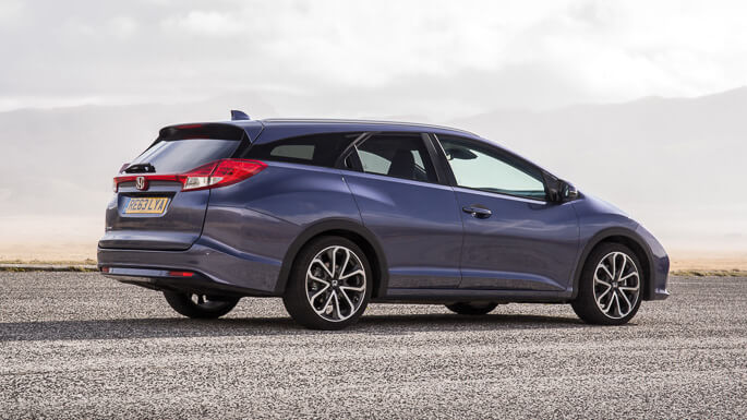 honda civic tourer 2014 Side