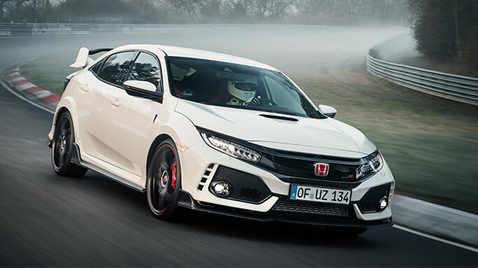 honda civic type R new Front