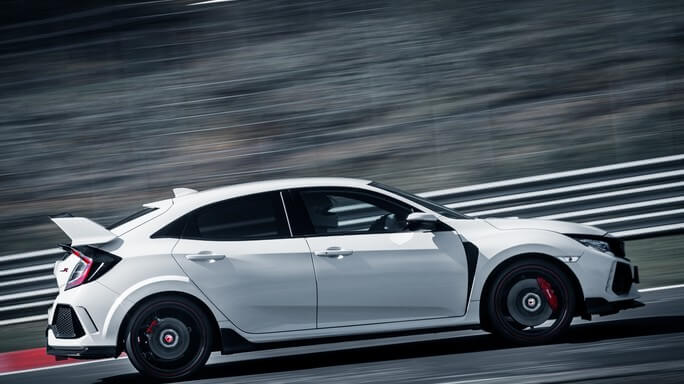honda civic type R new Side