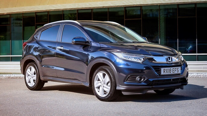 honda hr v new Front