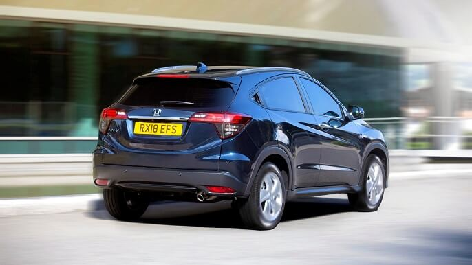 honda hr v new Rear