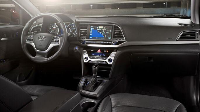 Hyundai Elantra New Interior on 2007 Hyundai Elantra