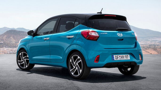 hyundai i10 new Rear