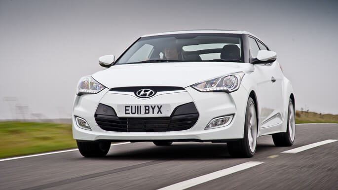 hyundai veloster new Front