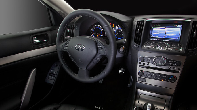 infiniti G37 coupe 2008 Interior