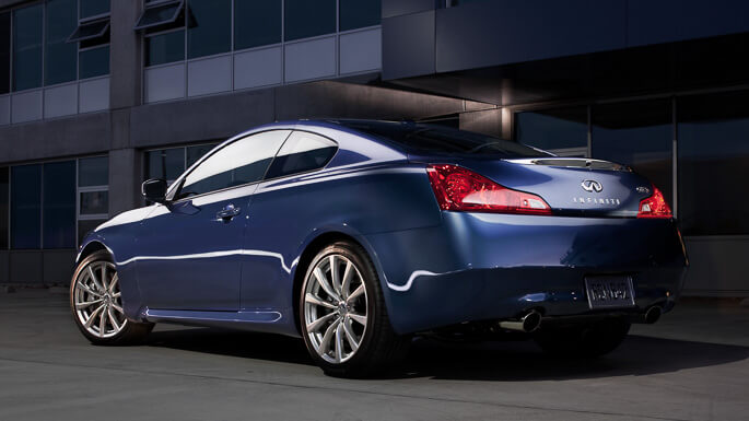 infiniti G37 coupe 2008 Rear