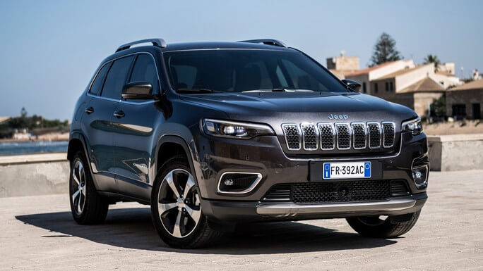 jeep cherokee new Front