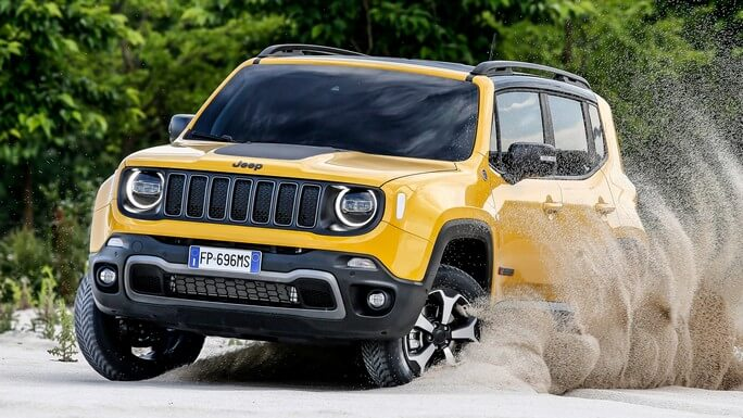 jeep renegade new Extra