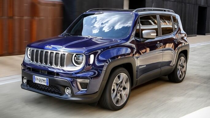 jeep renegade new Front