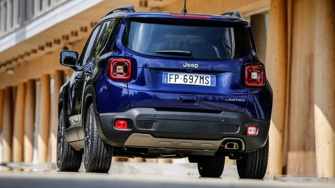jeep renegade new Rear