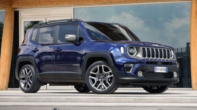 jeep renegade new Side