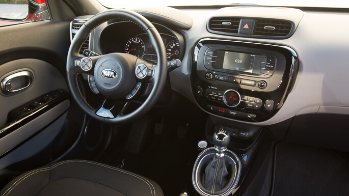 kia soul new Interior