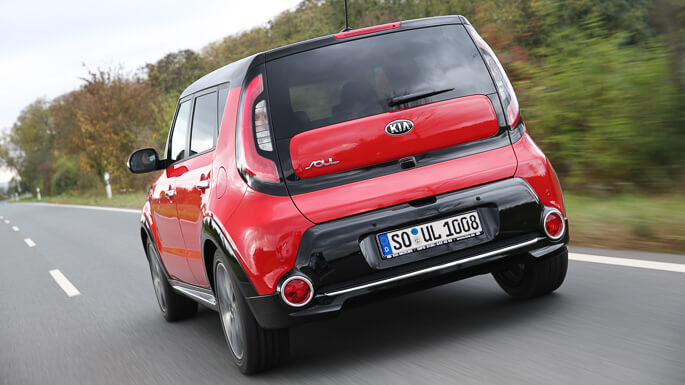 kia soul new Rear