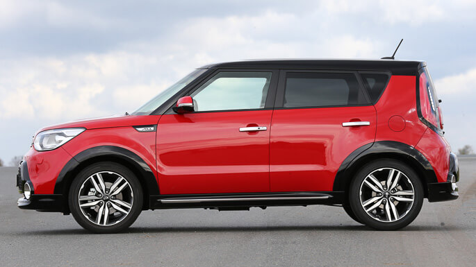 kia soul new Side